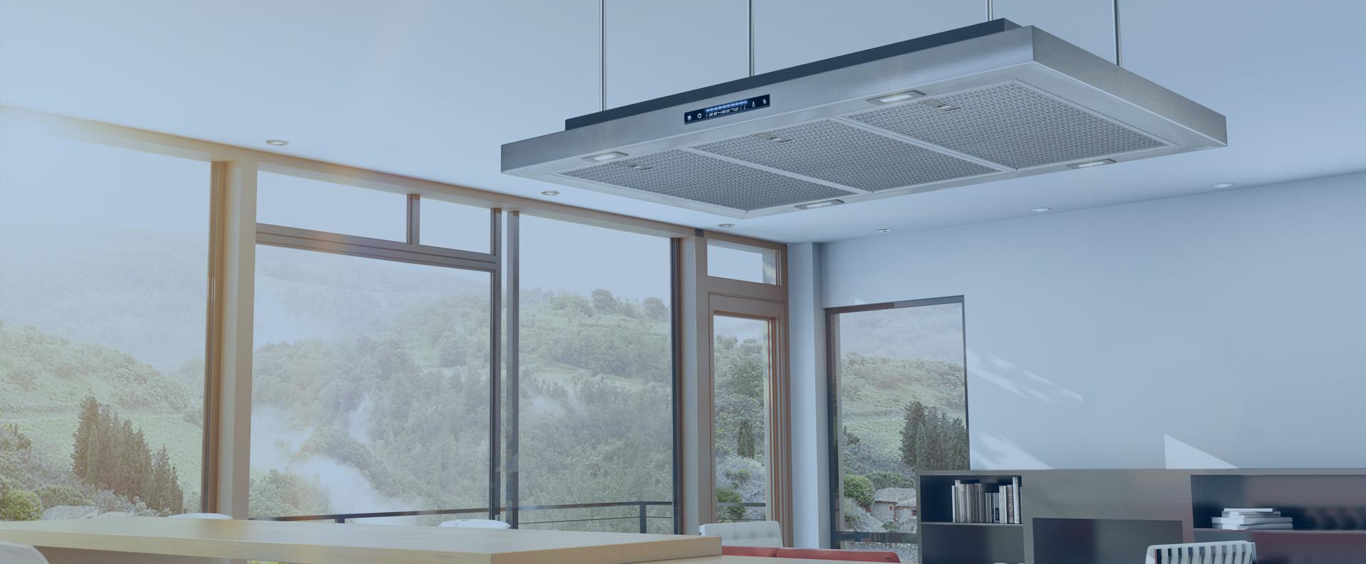Tubo Per Cappa Cucina Design cappe per cucina aspiranti per piani cottura | airforce